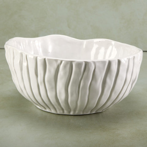 Hand crafted medium porcelain bowl