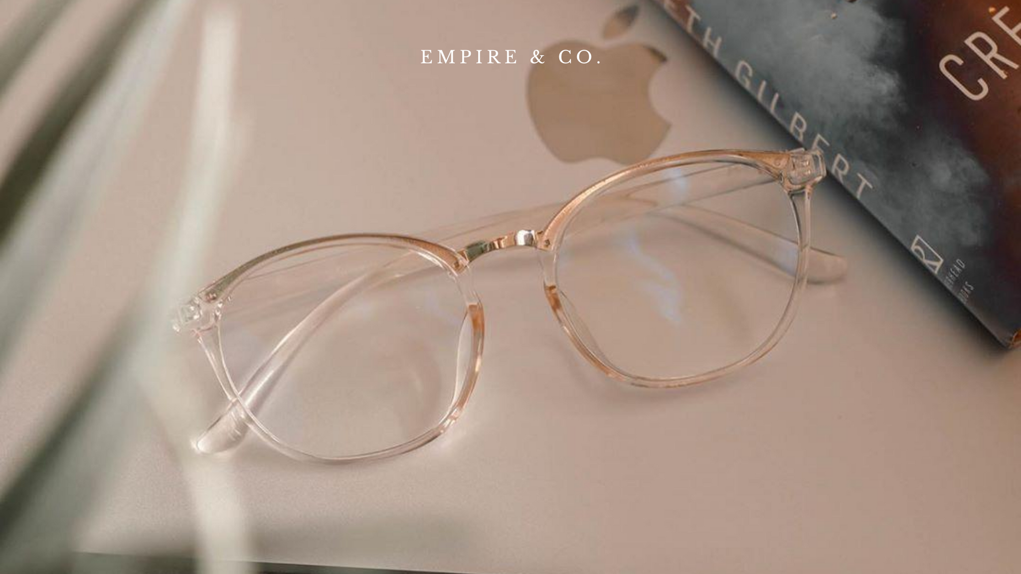 Empire & Co Goal Digger blue light blocking glasses