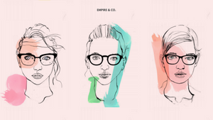 A guide to choosing the best Empire & Co frames for oblong, diamond, and pear face shapes
