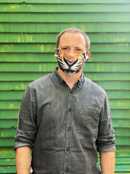 Tiger Face Masks Adults