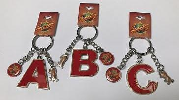 Chessington Alphabet Keyrings - all 26 letters available