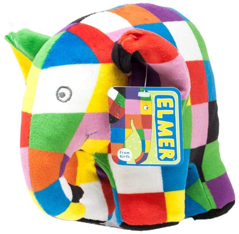Elmer Soft Toy Medium
