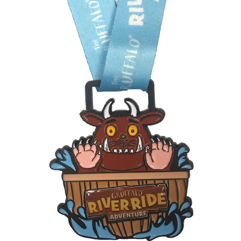 Gruffalo River Ride 2020 Medal