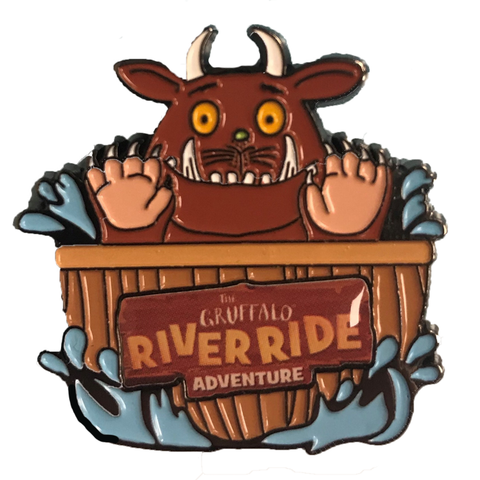 Gruffalo River Ride Pin Badge
