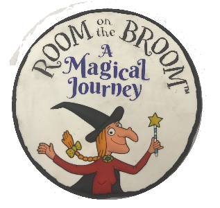 Room On the Broom Rubber Magnet
