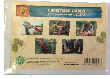 Chessington Christmas Cards