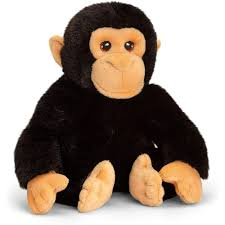 Soft Toy Keeleco Chimp 25cm
