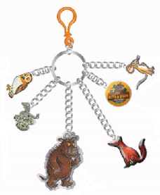 Gruffalo Charm Keyring - Exclusive to Chessington - 25% off - Online Offer