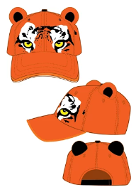 Tiger Kids Baseball Cap