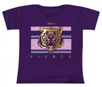 Tiger Kids Purple T-Shirt