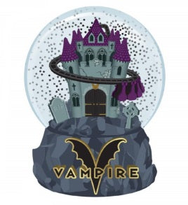New Vampire Glass Snowglobe