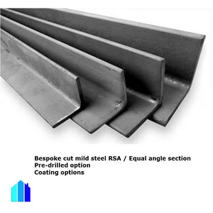 STAINLESS STEEL RSA ANGLE SECTION 304 CUT TO SIZE PRE-DRILLING OPTION BRACKETS