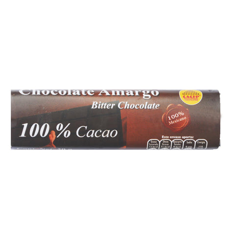 Barrita de chocolate 20 g - 100% cacao