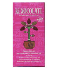 KI'XOCOLATL - DARK CHOCOLATE WITH PINK PEPPER FROM VERACRUZ