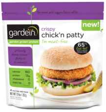 GARDEIN - CRISPY CHICKN PATTY