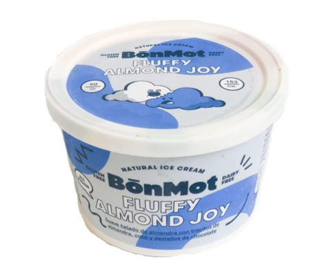 BONMOT - Helado Fluffy Almond Joy