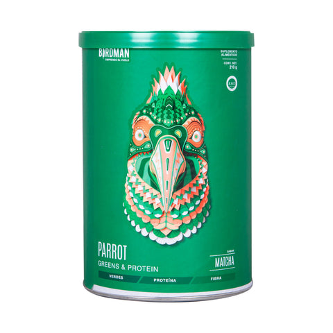 Parrot Greens & Protein Matcha 210gr