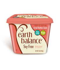 EARTH BALANCE - SOY FREE BUTTERY SPREAD