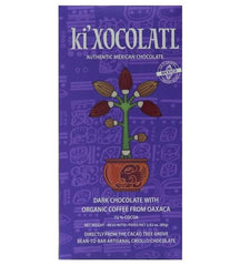 KI'XOCOLATL - DARK CHOCOLATE WITH ORGANIC COFFEE FROM OAXACA