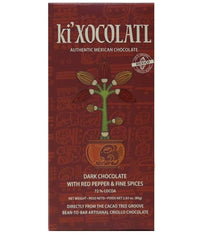 KI'XOCOLATL - DARK CHOCOLATE WITH RED PEPPER AND FINE SPICES