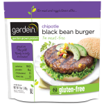 GARDEIN - CHIPOTLE BLACK BEAN BURGER