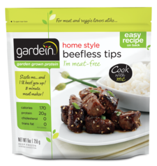 GARDEIN - BEEFLESS TIPS
