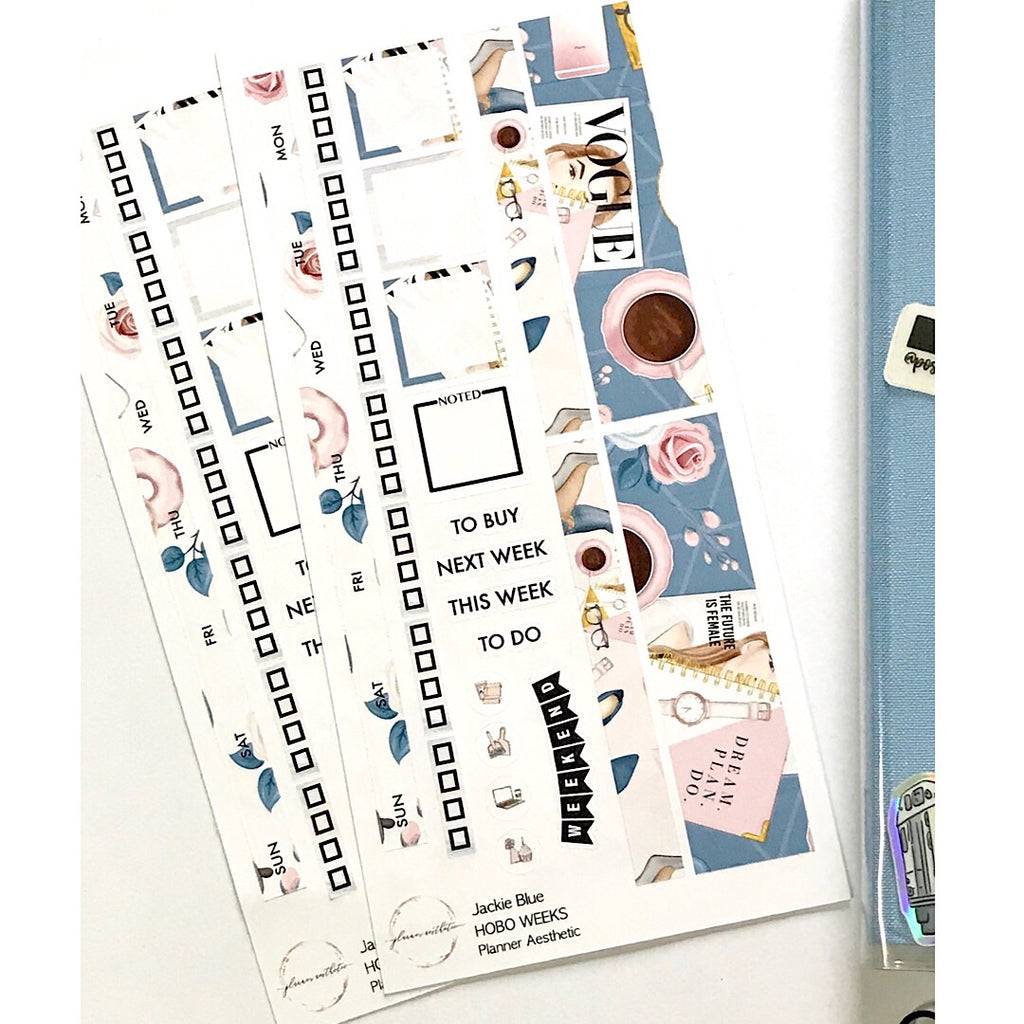 JACKIE BLUE HOBONICHI WEEKS KIT