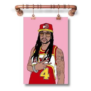 2 Chainz Poster Wall Decor