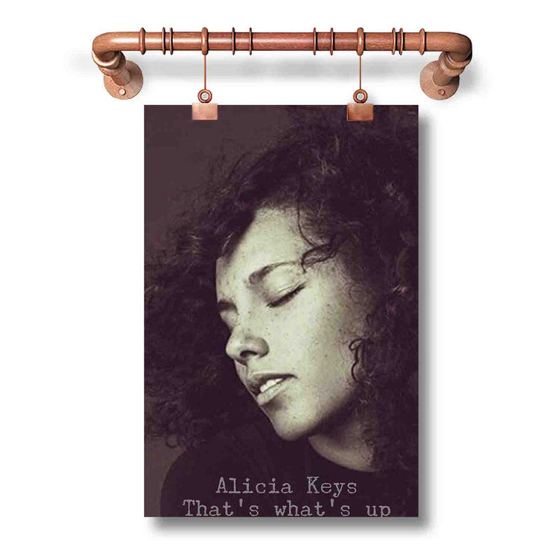 Alicia Keys That s What s Up Poster Wall Decor