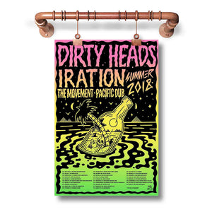 Dirty Heads Tour Poster Wall Decor