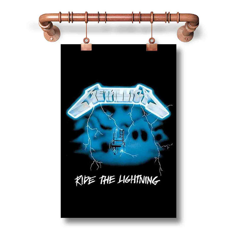 Metallica Ride The Lighting Poster Wall Decor