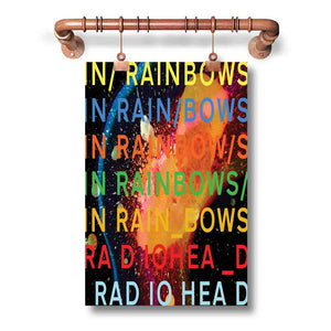 Radiohead Rainbow Poster Wall Decor