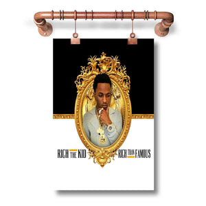 Rich The Kid Poster Wall Decor