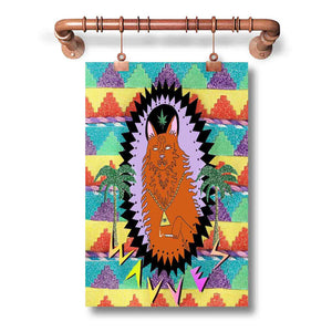 WAVVES King Of The Beach Poster Wall Decor