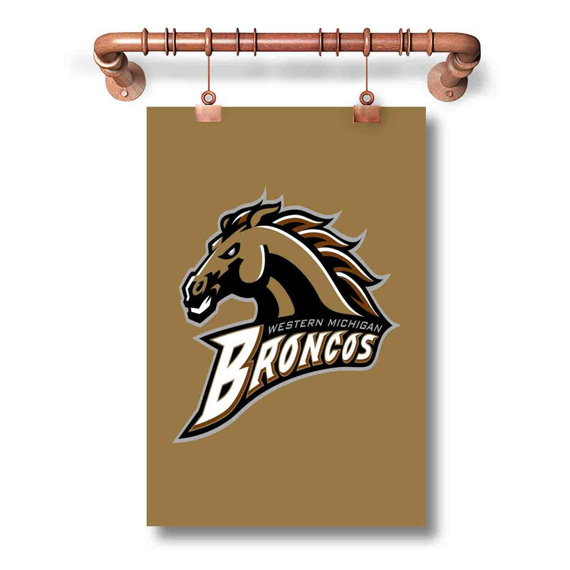 Western Michigan Broncos Poster Wall Decor