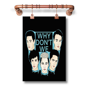Why Don t We Popular New Poster Wall Decor