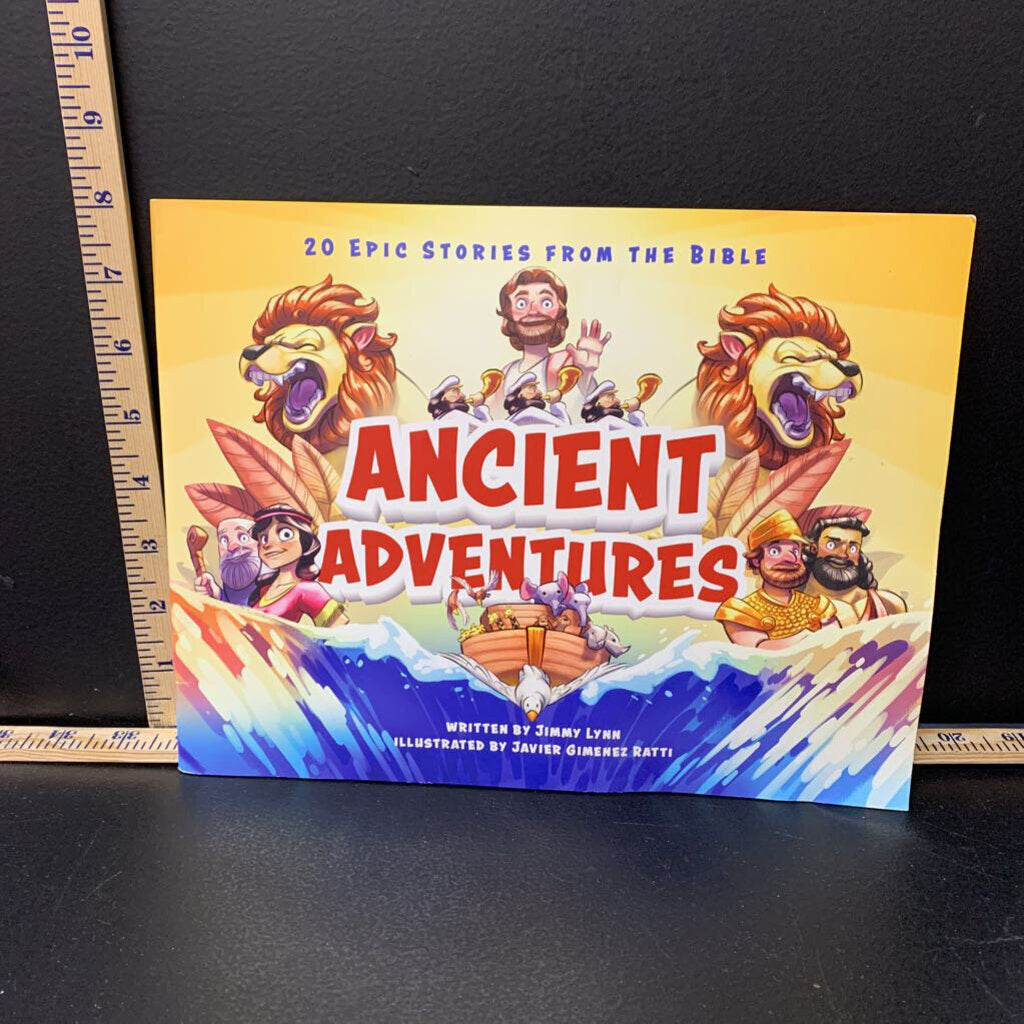 Ancient Adventures (Jimmy lynn) -Paperbacl