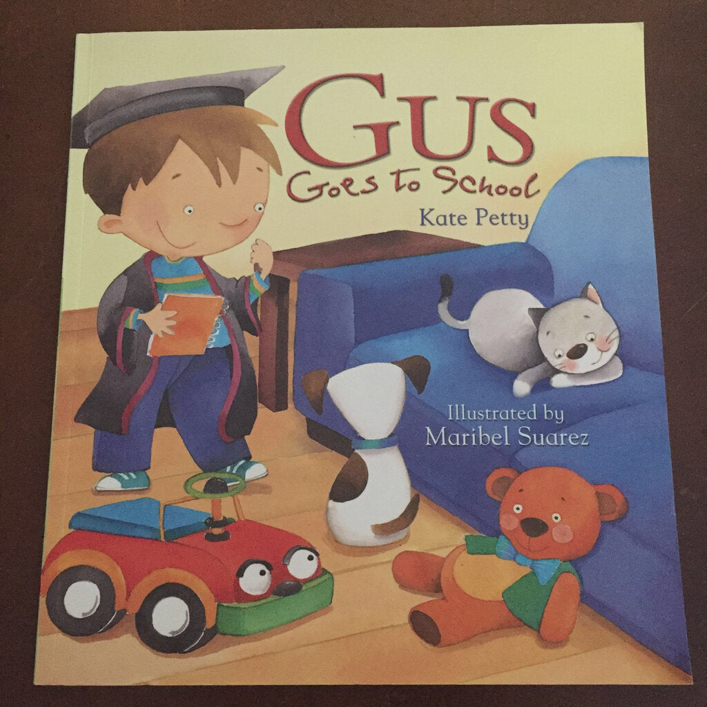 Gus Goes To School-paperback