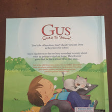 Load image into Gallery viewer, Gus Goes To School-paperback