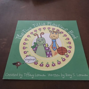 the tiny tilla playtime book (Tiffany & Rory Lerman) -paperback