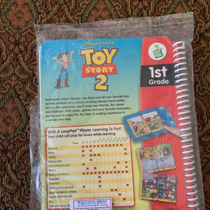 First Grade LeapPad Book: Toy Story 2