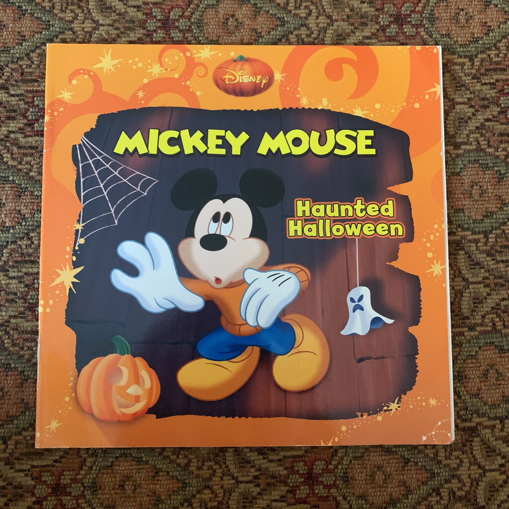 mickey mouse haunted halloween -holiday