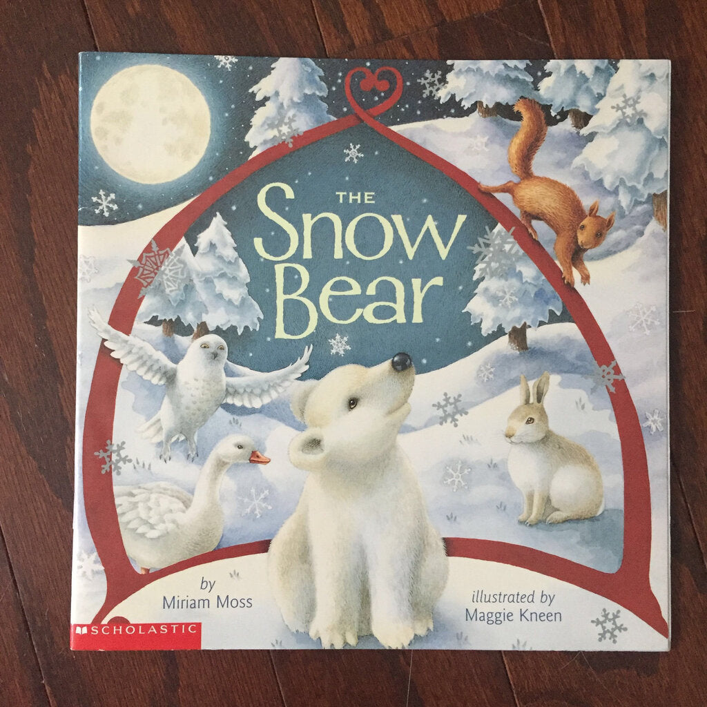 The snow bear- paperback