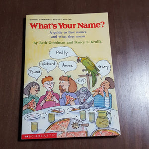 What's Your Name? (Beth Goodman) -chapter