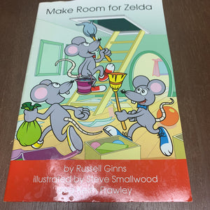 Make Room for Zelda(Hooked On Phonics)-reader