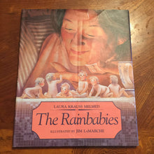 Load image into Gallery viewer, The rainbabies-hardcover
