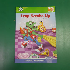 """Leap Scrubs Up"" Tag Reader"