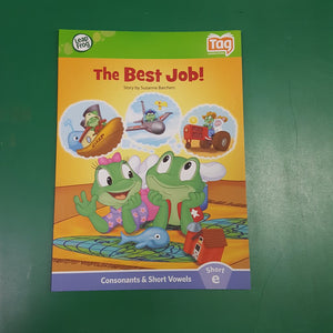 """The Best Job"" Tag Reader"