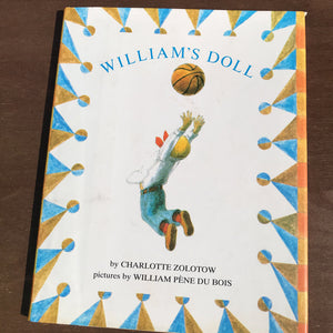 William's Doll (Charlotte Zolotow) -hardcover