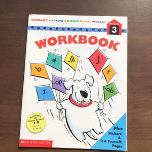 Phonics Reading Program 3-workbook